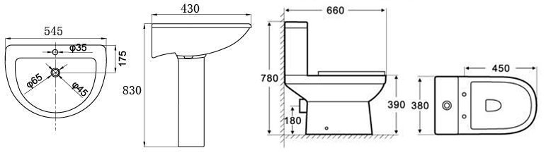 Click Here For Alpha Toilet Cistern Dimensions