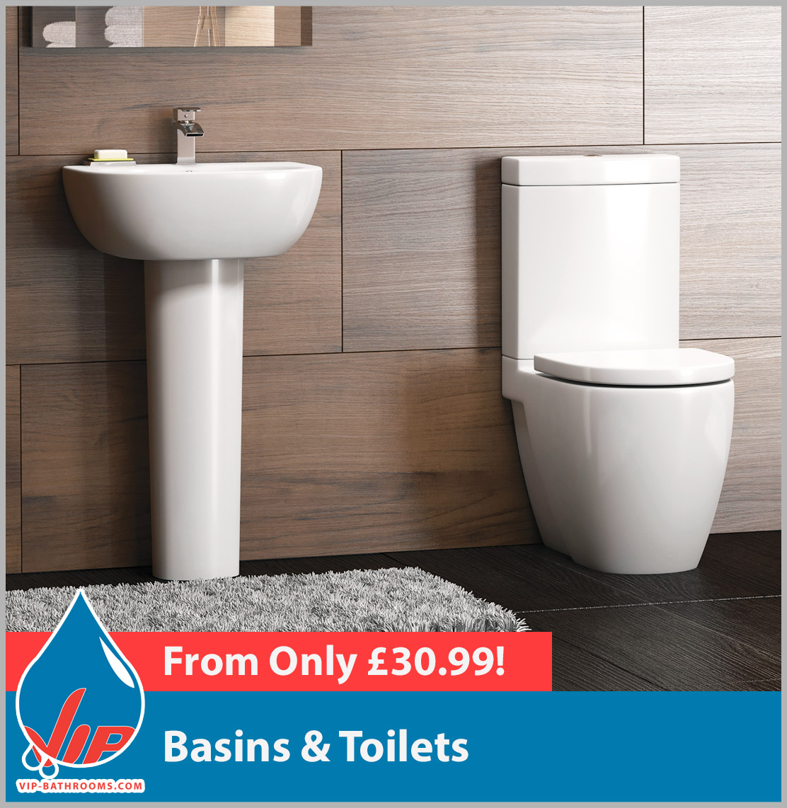 Click here to see the superb Basins and Toilets we have to offer