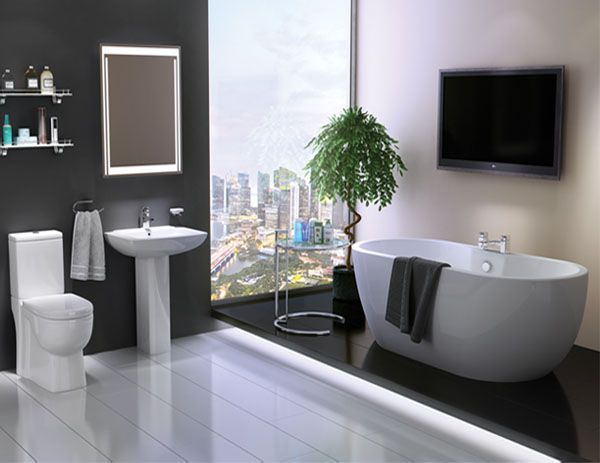 San Marlo Sorea Full Bathroom Suite | VIP Bathrooms.com