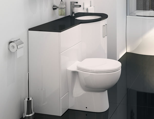 Vanity Bathroom Suite With P