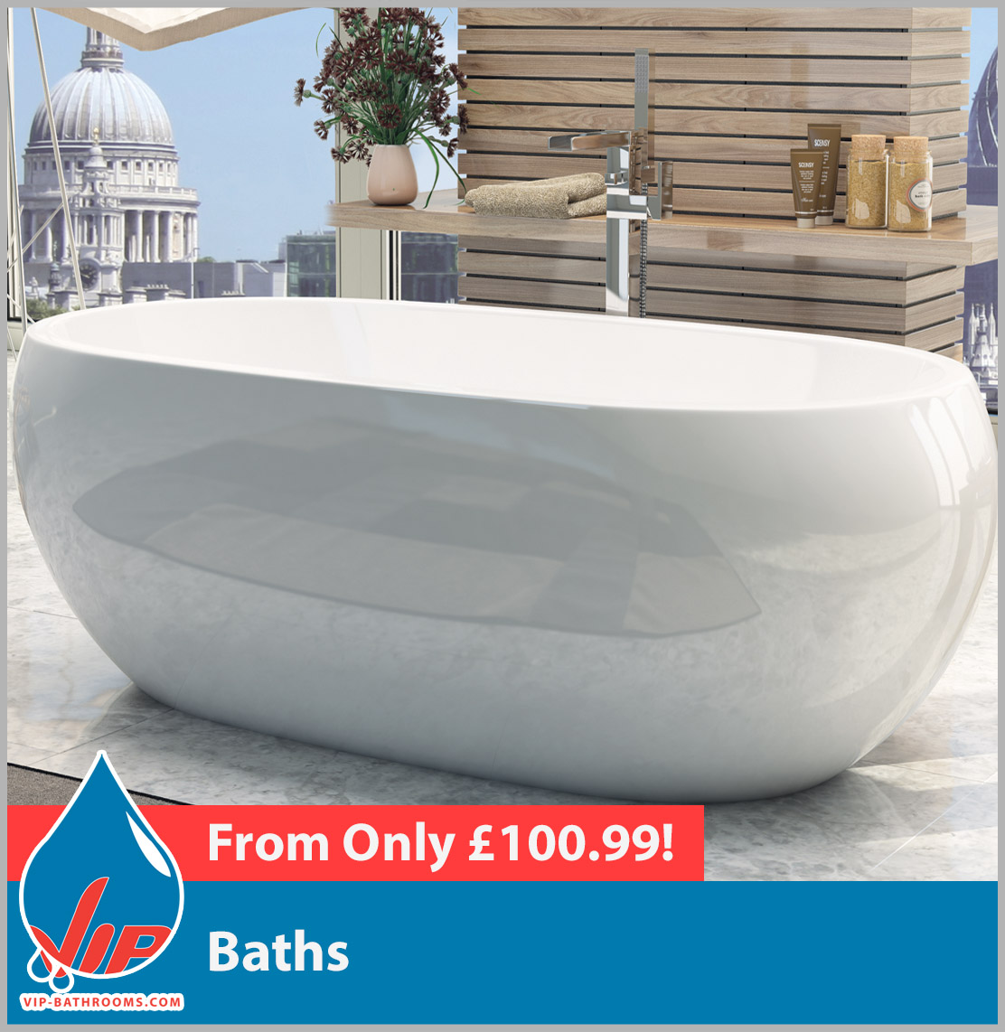 Click here for our stunning range of designer baths
