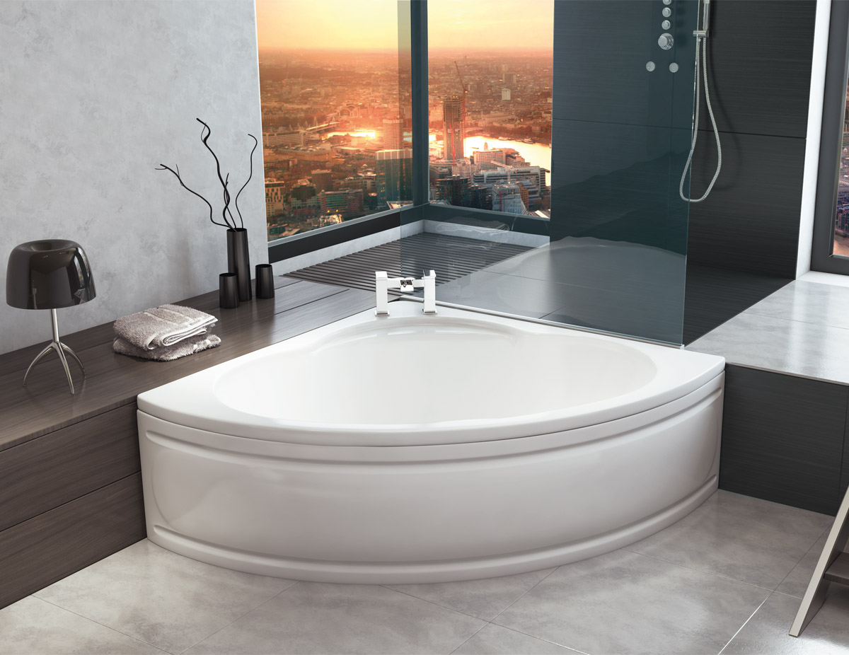 Corner Baths | VIP-Bathrooms.com