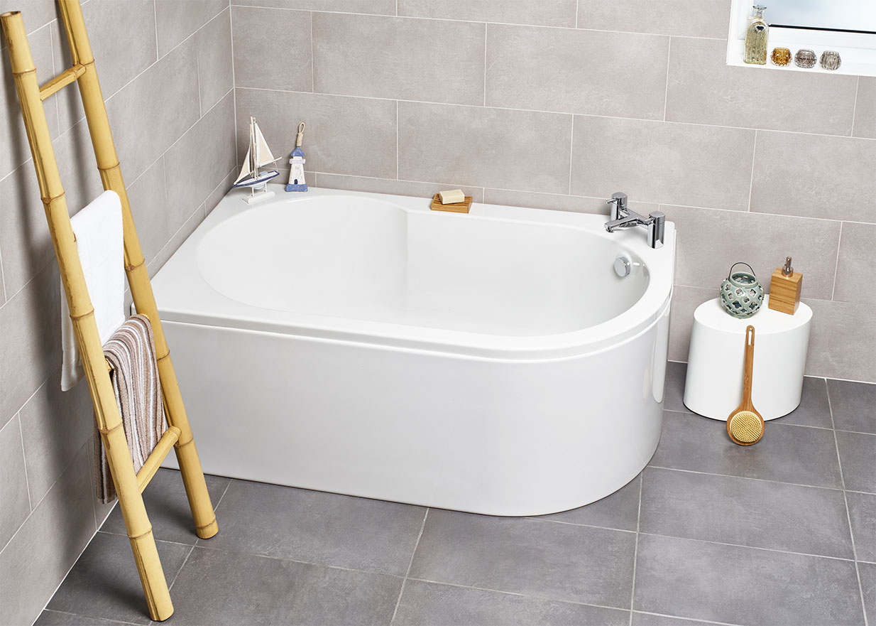 Corner Baths | VIP-Bathrooms.com