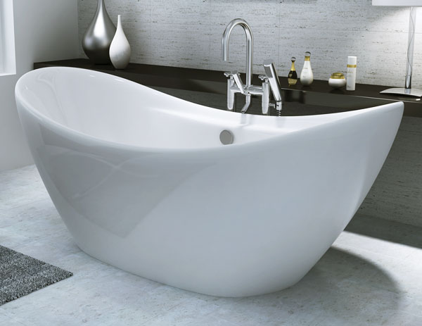 Only Ibiza Modern Freestanding Double Slipper Bath FSB018 VIP Ba