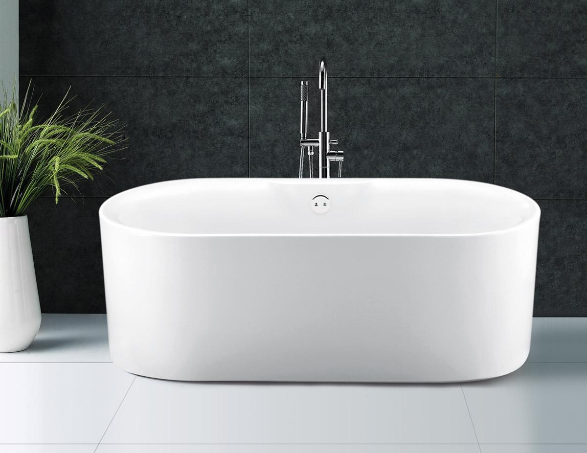 Only £595.99! | Kingston Modern Freestanding Bath | VIP-Bathrooms.com