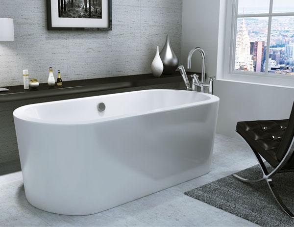 Only kingston designer modern freestanding bath for Bathroom design kingston