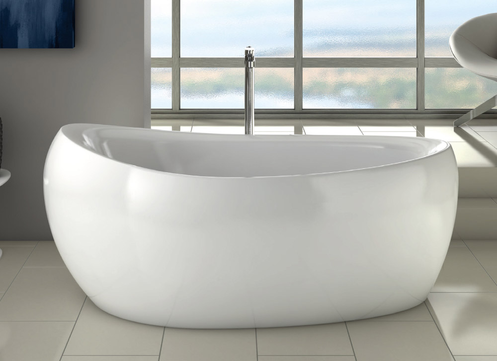 The Milano Modern Freestanding Bath from VIP Bathrooms - now only 729.99 GBP!