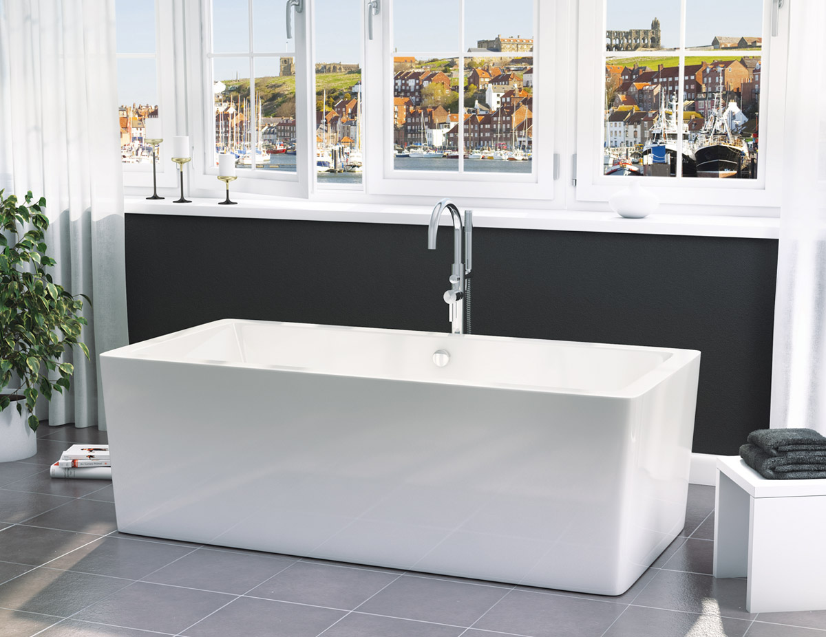Only Synergy Square Modern Freestanding Bath VIP