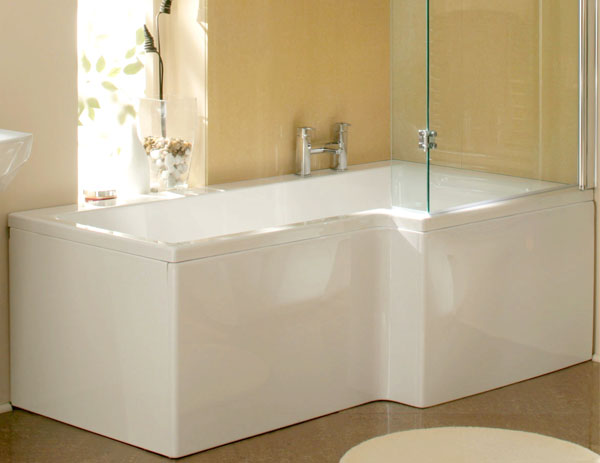 Click here to view   buy the Synergy Elite L Shaped Shower Bath. Shower Baths   VIP Bathrooms com