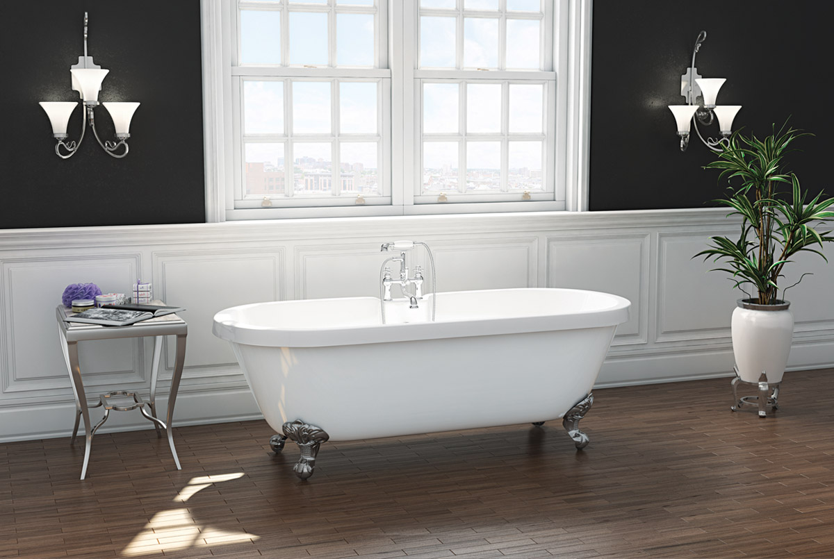 The Wilmslow Traditional Freestanding Slipper Bath From VIP Bathrooms