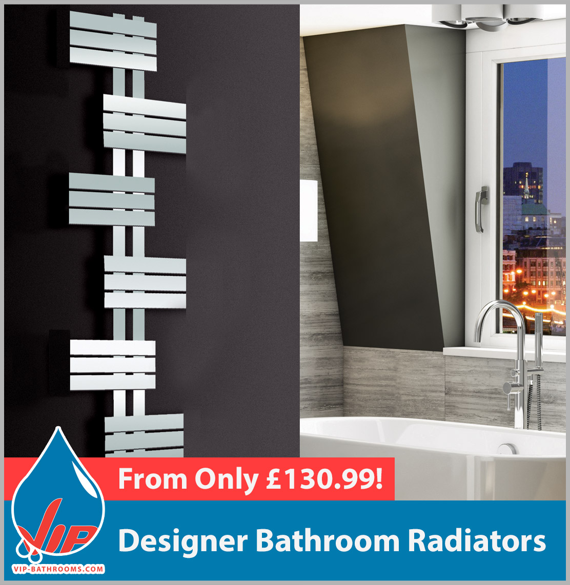 Click here to see our range of stunning designer luxury radiators