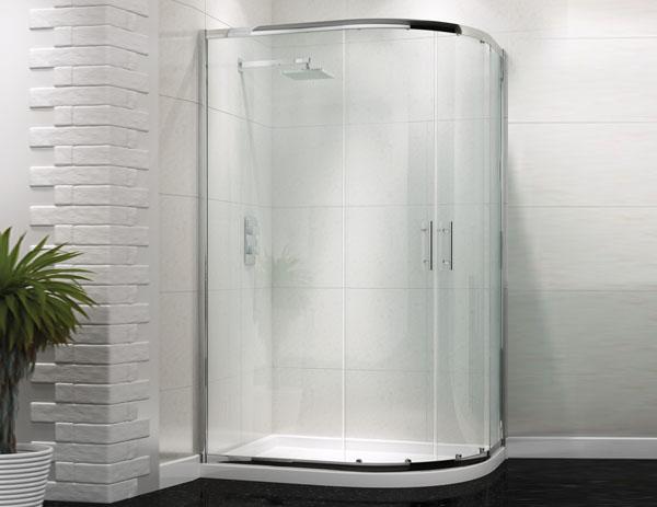 Only 163 238 99 Technik 6 Offset Quadrant Designer Shower