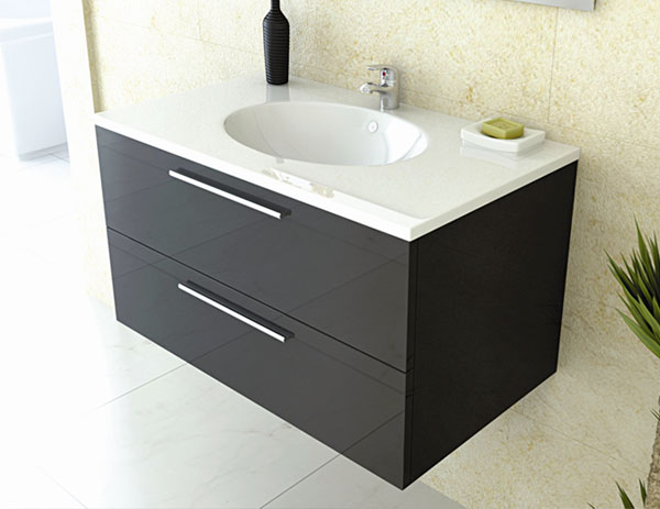 Perfect for smaller bathrooms, guest rooms or ensuites, wall hung furniture provides the illusion of added space and room