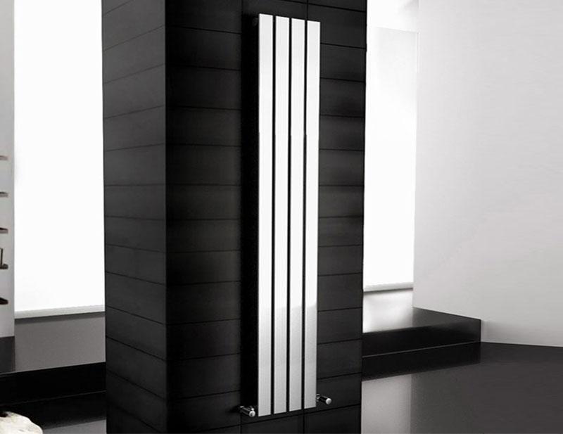 Chrome Bathroom Towel Radiators: Designer Bathroom Radiators