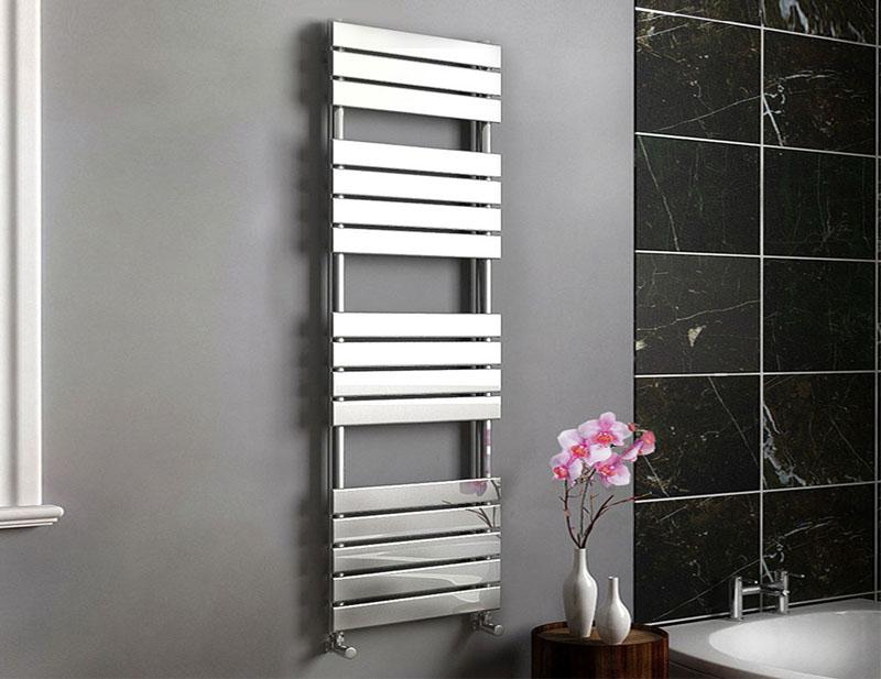 Chrome Bathroom Towel Radiators: Ladder Towel Rails