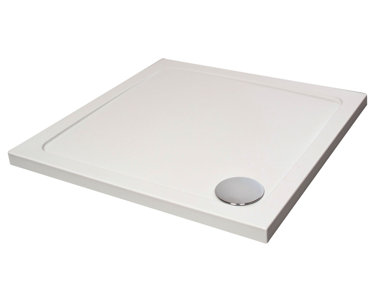 From Only £75.99! | Arley Hydro 45 Low Profile Square Shower Trays ...