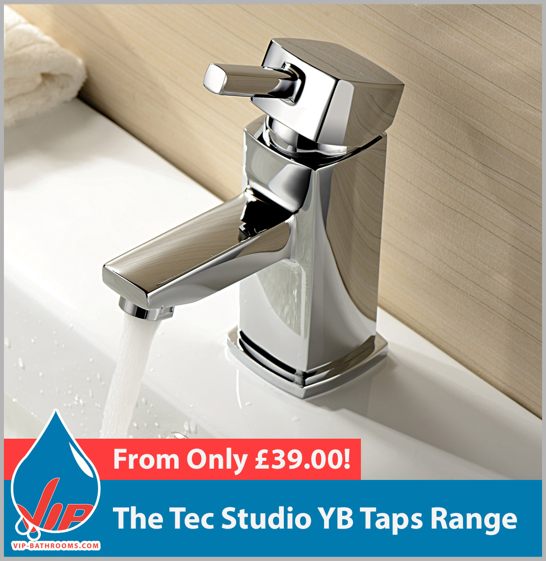 Click here to view the Tec Studio YB range of high quality designer Bathroom Taps